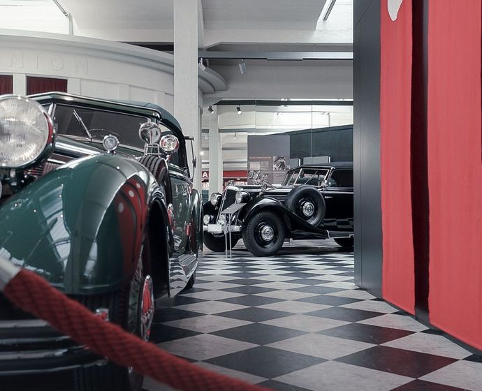 Vintage car from Horch